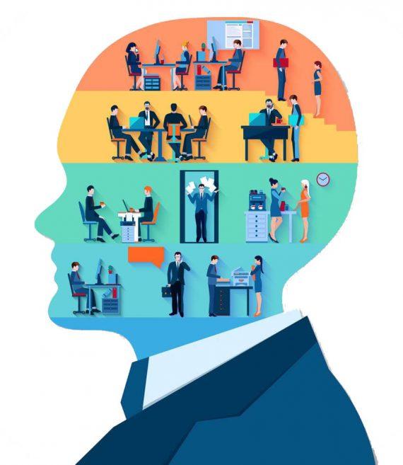 business-head-design-concept-vector